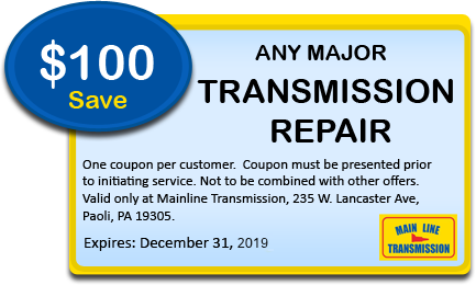 Common Signs of Transmission Problems |Main Line Transmission